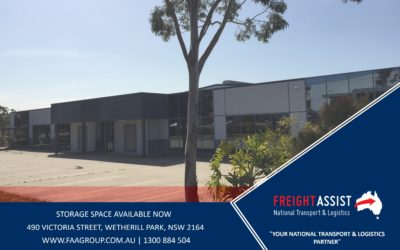 EXCITING NEWS, WE ARE RELOCATING OUR SYDNEY DEPOT!